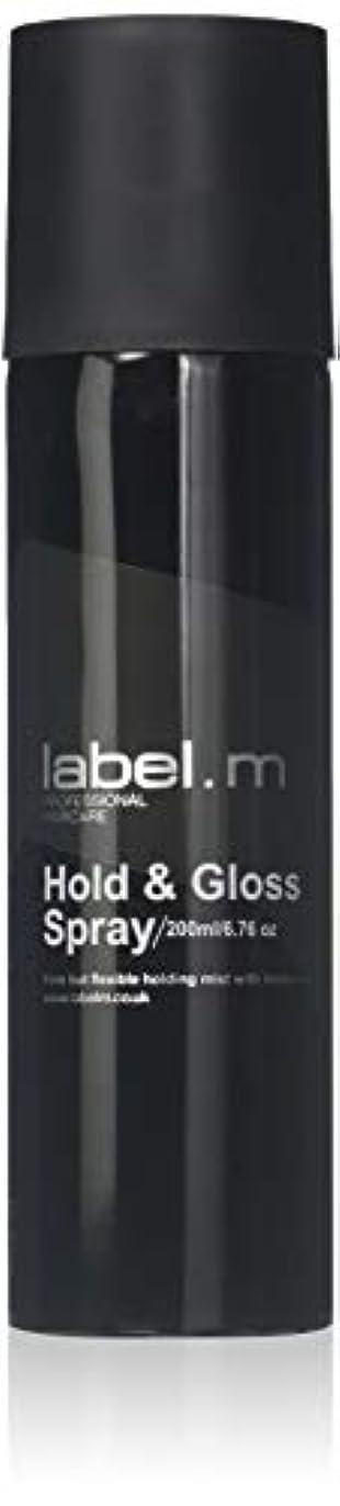 リズム市長かび臭いLabel.M Professional Haircare 200MLホールド&グロススプレーLabel.M