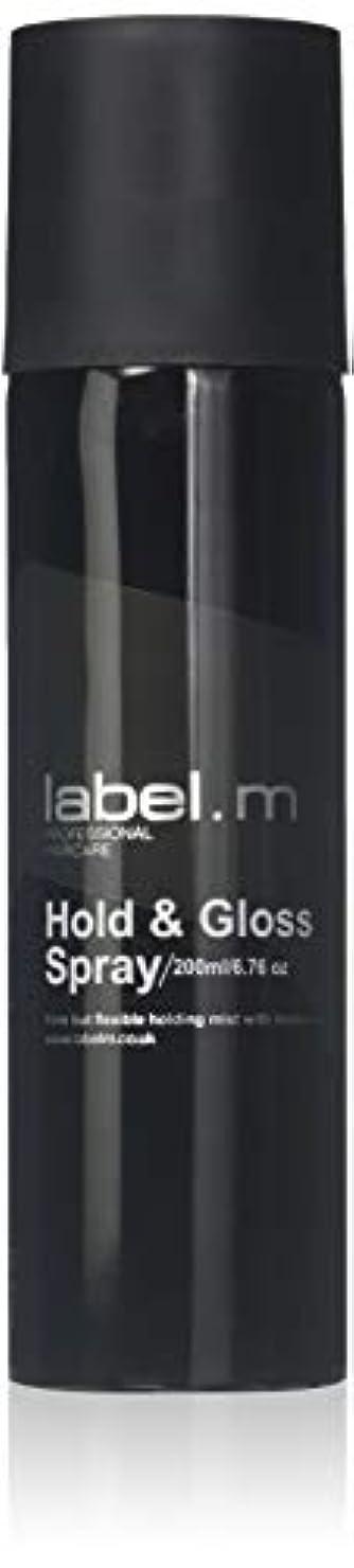 パーツ分岐するトライアスロンLabel.M Professional Haircare 200MLホールド&グロススプレーLabel.M