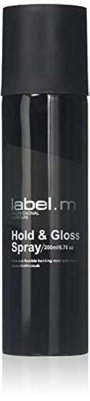 群がる思いつく矛盾Label.M Professional Haircare 200MLホールド&グロススプレーLabel.M