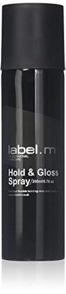 コントローラ機密光沢Label.M Professional Haircare 200MLホールド&グロススプレーLabel.M