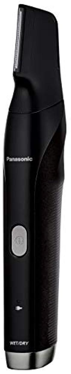 中毒に沿ってボットパナソニック ボディトリマー お風呂剃り可 海外対応 男性用 黒 ER-GK80-K