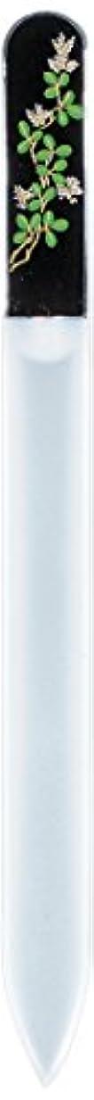 悪性ビリーうめき橋本漆芸 ブラジェク製高級爪ヤスリ 九月 萩 OPP