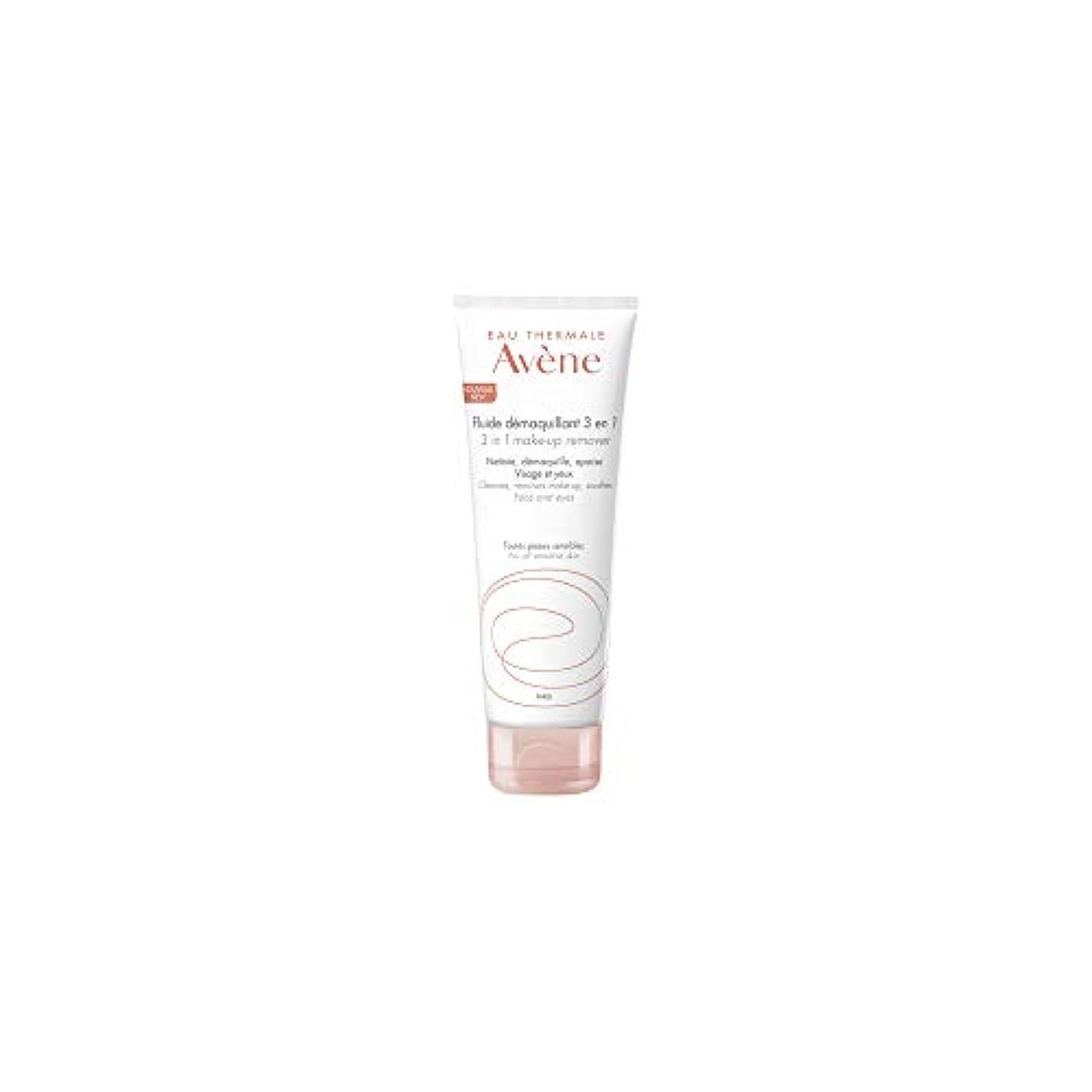 自動車ホイップ更新するアベンヌ 3 In 1 Make-Up Remover (Face & Eyes) - For All Sensitive Skin 200ml/6.7oz並行輸入品
