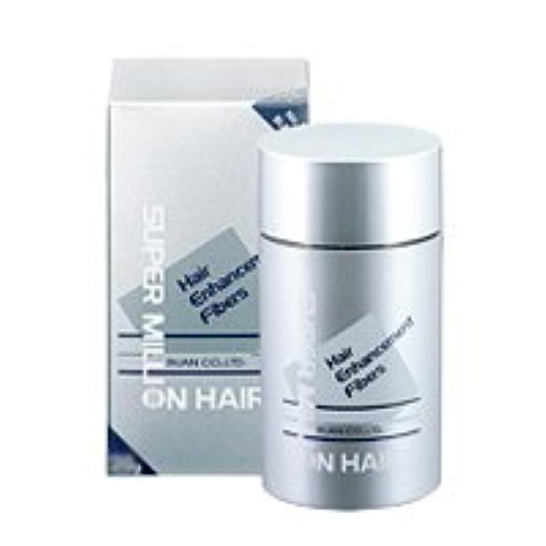 米ドル平方石灰岩スーパーミリオンヘアー 30g ダークブラウン/髪の毛に振りかけるだけの薄毛ケア