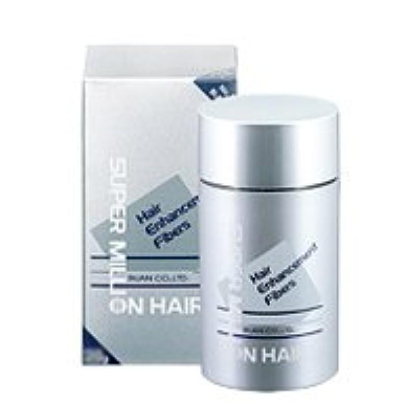 涙反対認可スーパーミリオンヘアー 30g ダークブラウン/髪の毛に振りかけるだけの薄毛ケア