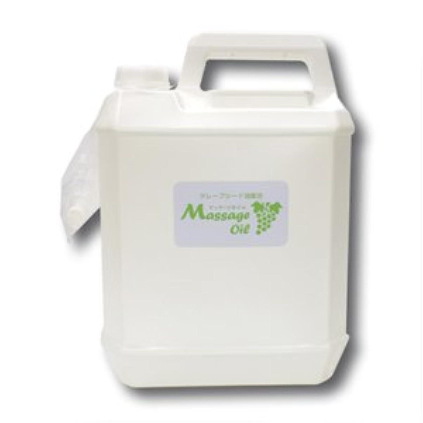 ほとんどの場合メリー膿瘍グレープシード配合マッサージオイル 5L│エステ店御用達のプロ仕様業務用マッサージオイル グレープシードオイル