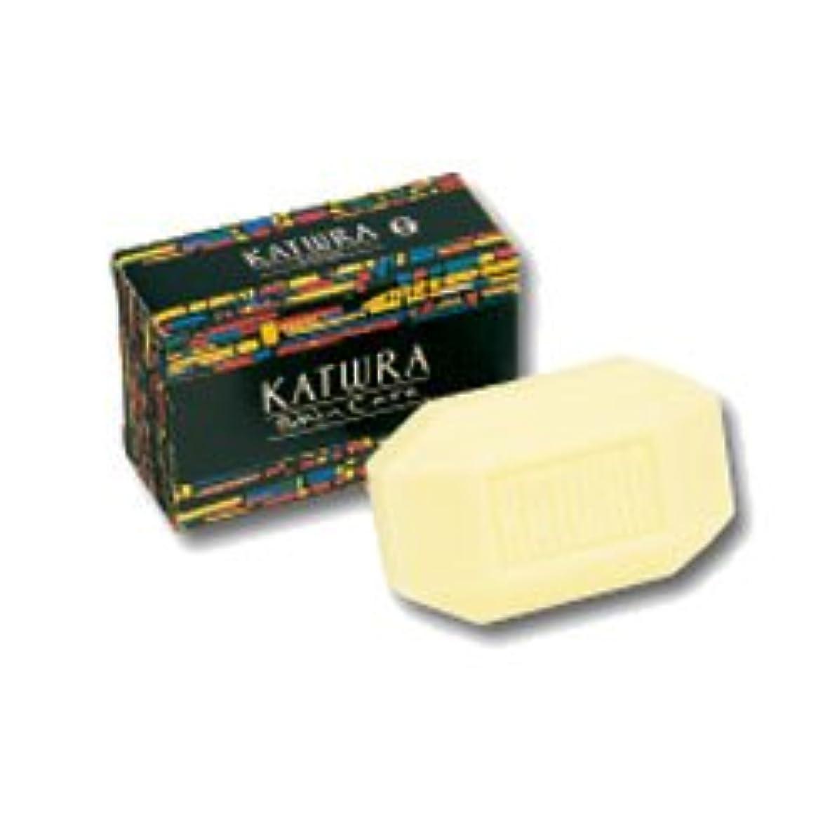 【カツウラ化粧品】カツウラ?サボン(グリーンフローラルの香り) 100g ×3個セット