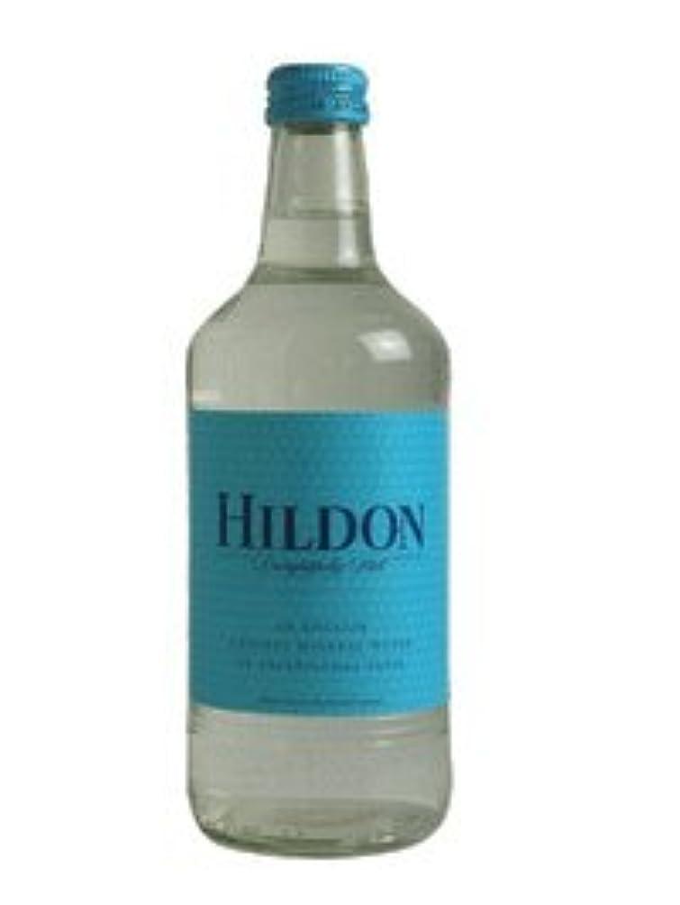 安らぎシャンプー迷惑HILDON(ヒルドン) 無発泡 500mLx24本入り グラスボトル
