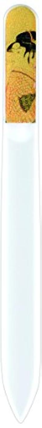 橋本漆芸 ブラジェク製高級爪ヤスリ 特殊プリント加工 ポッピンを吹く女 紙箱