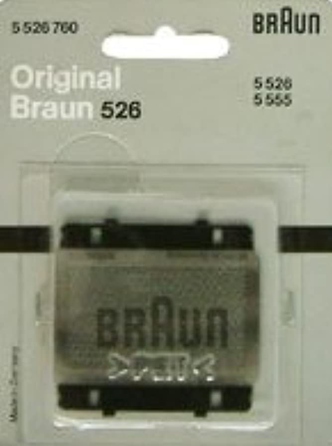 バス空白動作ブラウン シェーバー シンクロン トラベラー バッテリー RC 8h 網刃 526