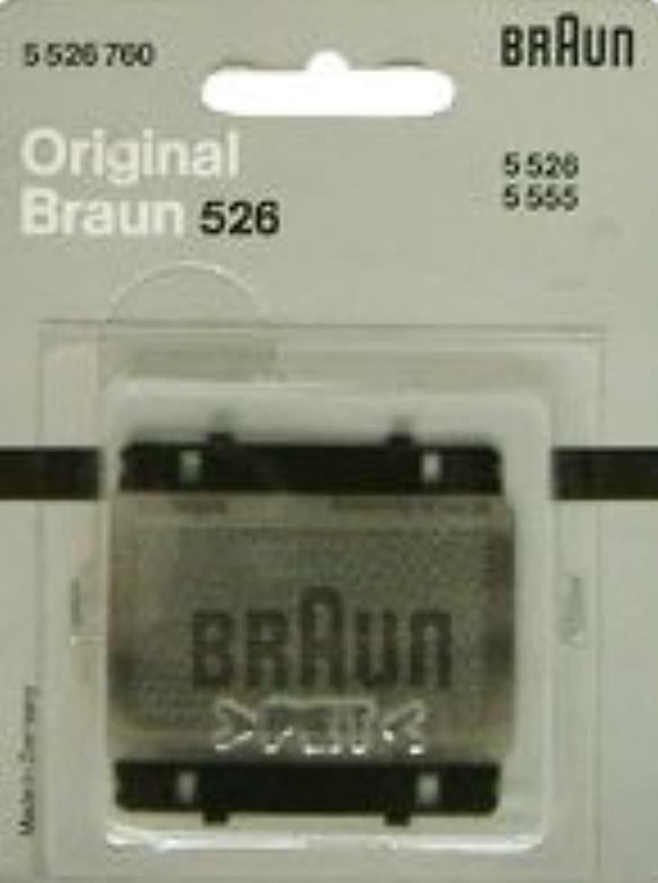 ブラウン シェーバー シンクロン トラベラー バッテリー RC 8h 網刃 526