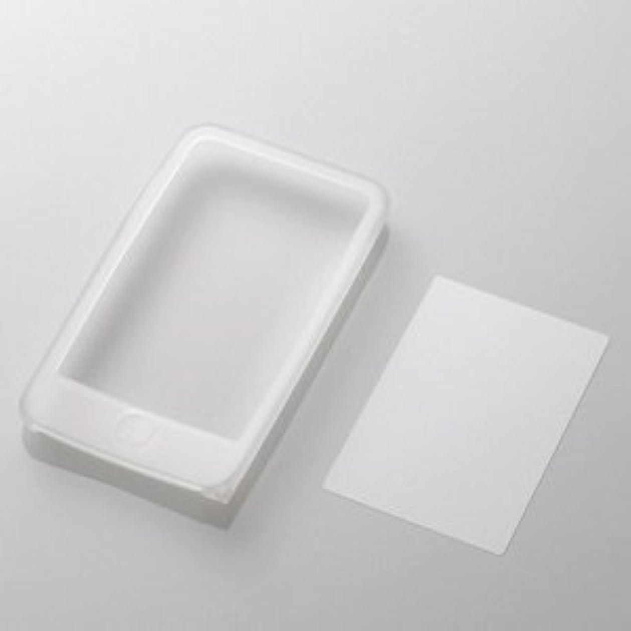 汚いによると祝福ELECOM iPod 2nd touch/シリコンケース&液晶保護フィルム/クリア AVD-SCA2TCR