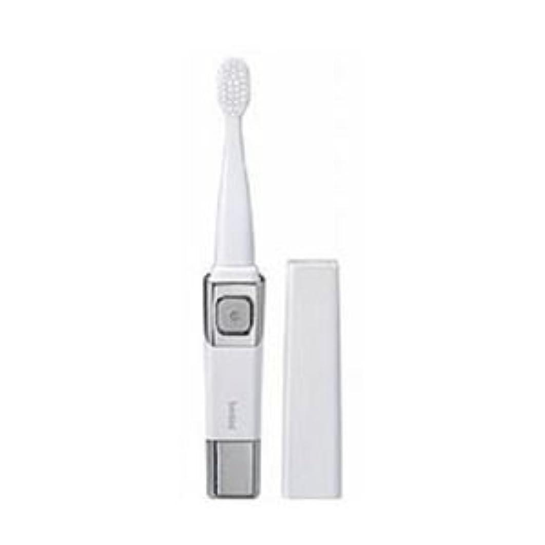 (まとめ)ツインバード 音波振動歯ブラシ パールホワイト BD-2755PW【×3セット】