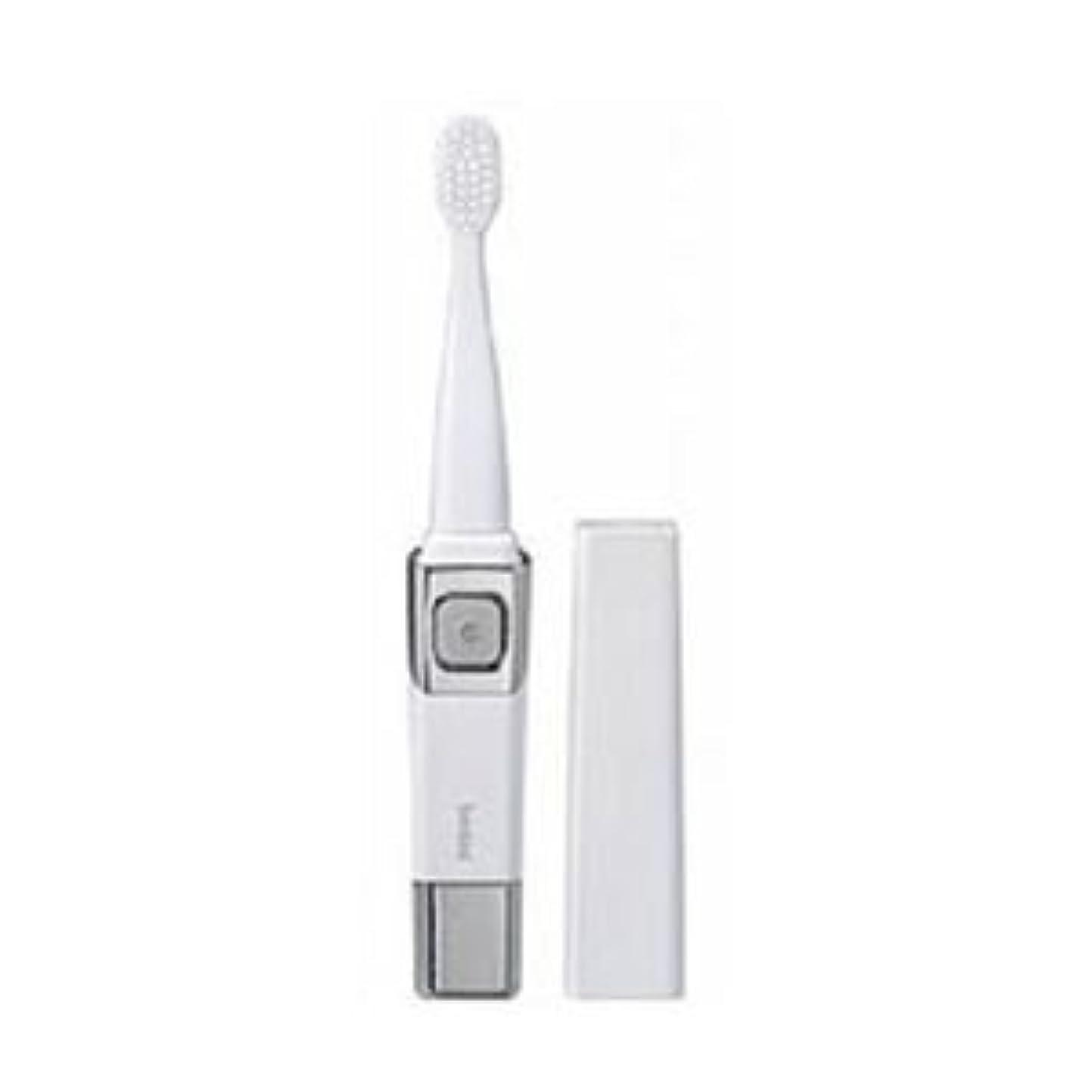 嫌なプール浸漬(まとめ)ツインバード 音波振動歯ブラシ パールホワイト BD-2755PW【×3セット】