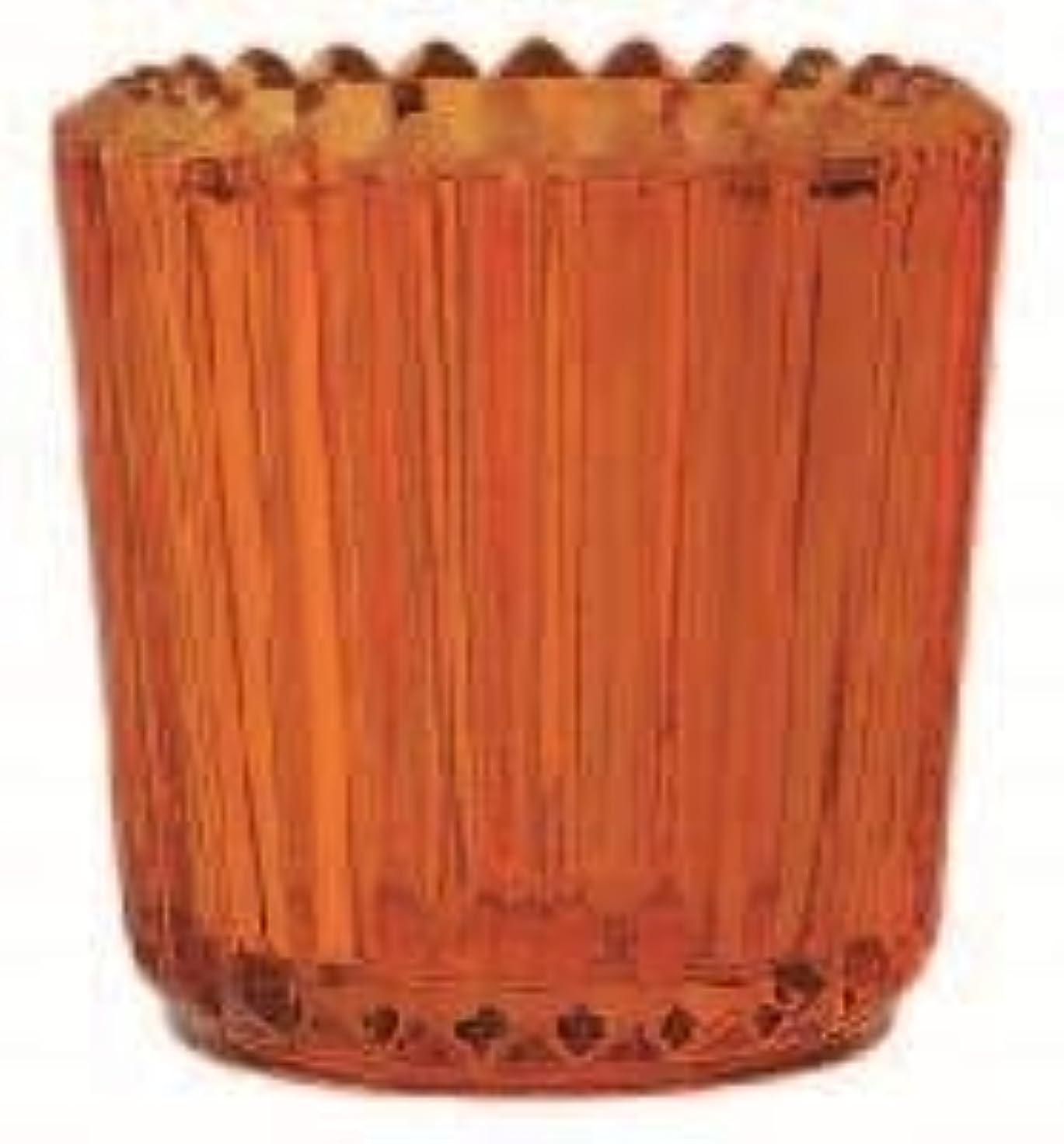 本当のことを言うと入り口振り向くカメヤマキャンドル(kameyama candle) ソレイユ 「 オレンジ 」