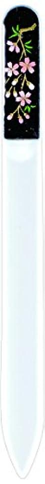 大腿ワックスカート橋本漆芸 ブラジェク製高級爪ヤスリ しだれ桜 紙箱