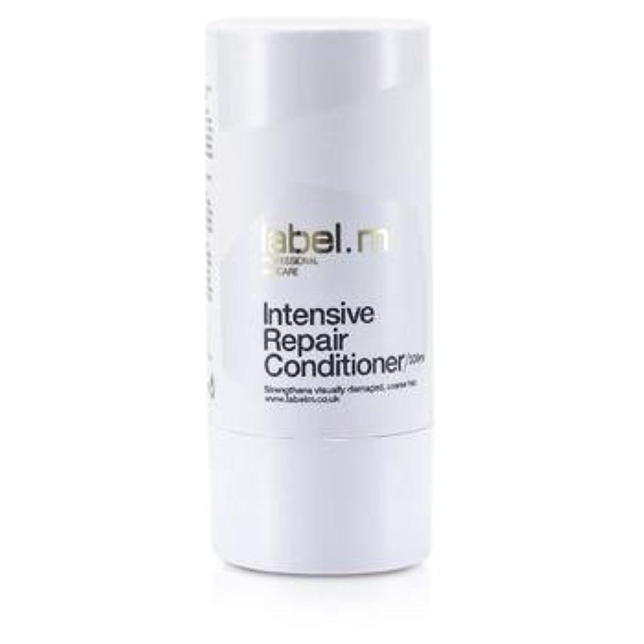 に向けて出発クルーローストLabel MIntensive Repair Conditioner (For Visually Damaged, Coarse Hair) 300ml/10.1oz【海外直送品】