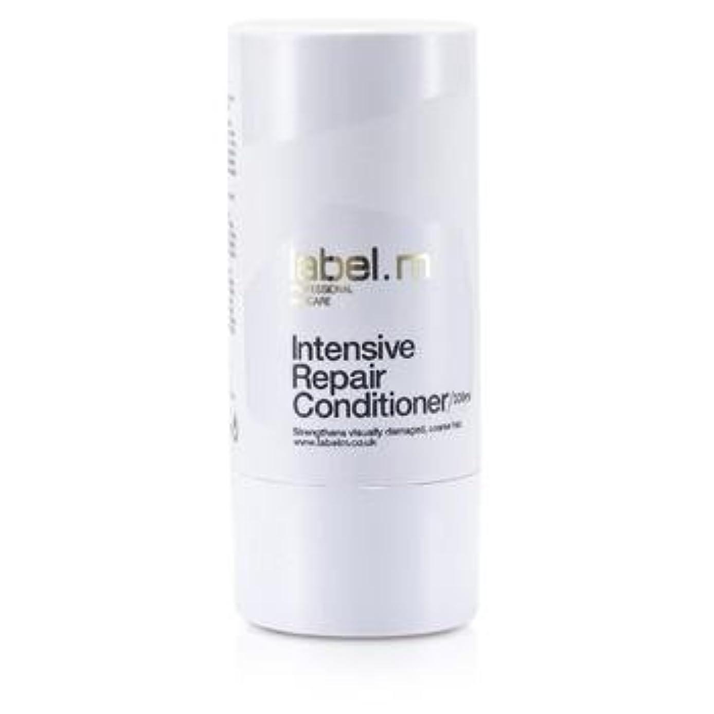 彫る槍歌手Label MIntensive Repair Conditioner (For Visually Damaged, Coarse Hair) 300ml/10.1oz【海外直送品】