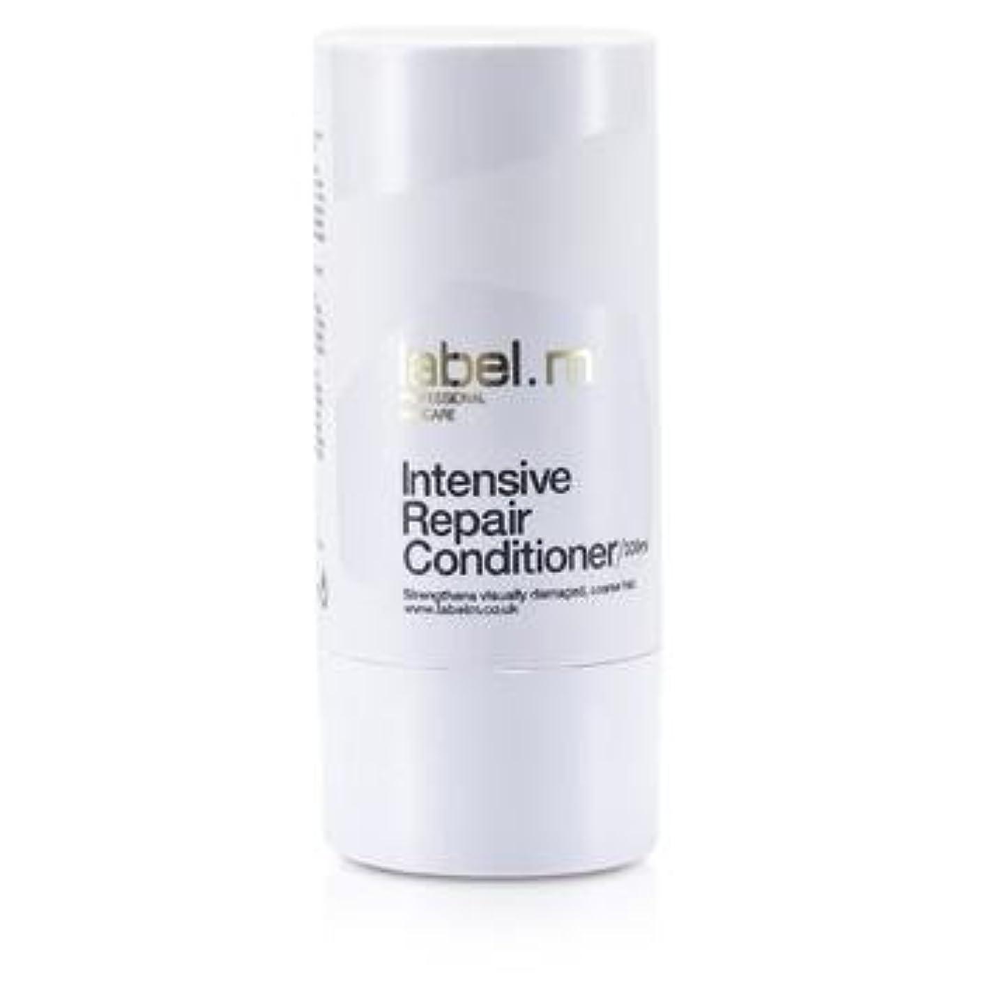 マイル退却デンマークLabel MIntensive Repair Conditioner (For Visually Damaged, Coarse Hair) 300ml/10.1oz【海外直送品】