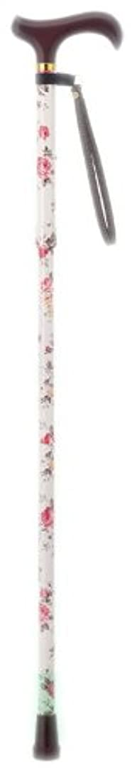 端末ポータル乳製品愛杖Eシリーズ E-29B 折りたたみタイプ 花柄 [適応身長144~162cm]