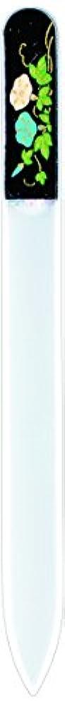 申し立てられた昼食スキー橋本漆芸 ブラジェク製高級爪ヤスリ 七月 朝顔 OPP