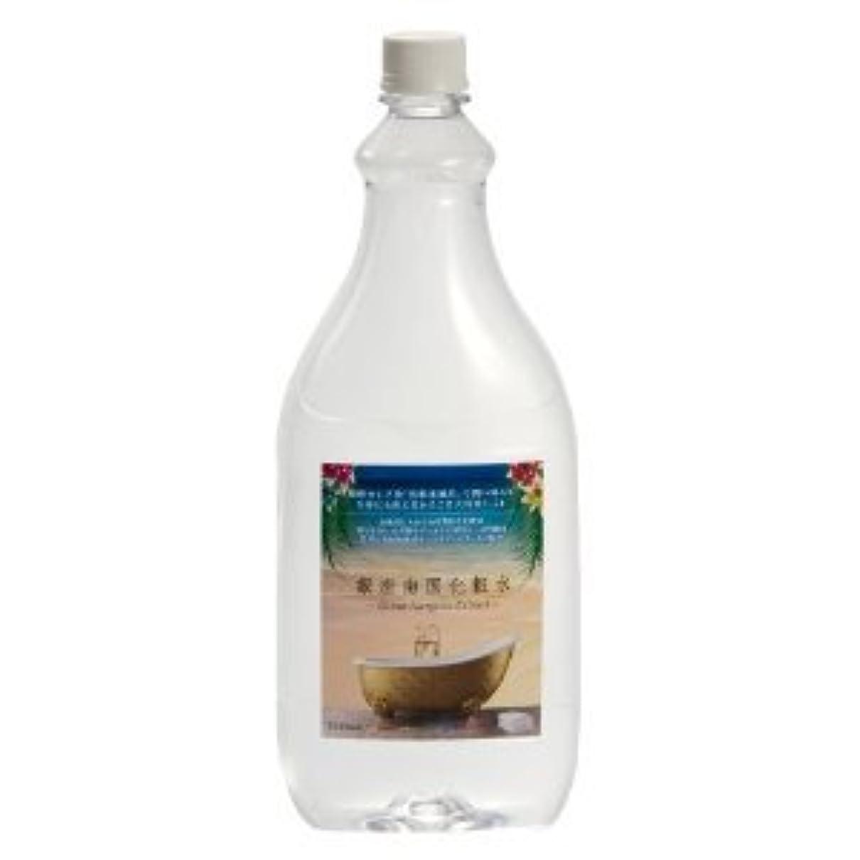 の前で台風水平銀座南国化粧水 (1000ml) スプレーボトル付きセット
