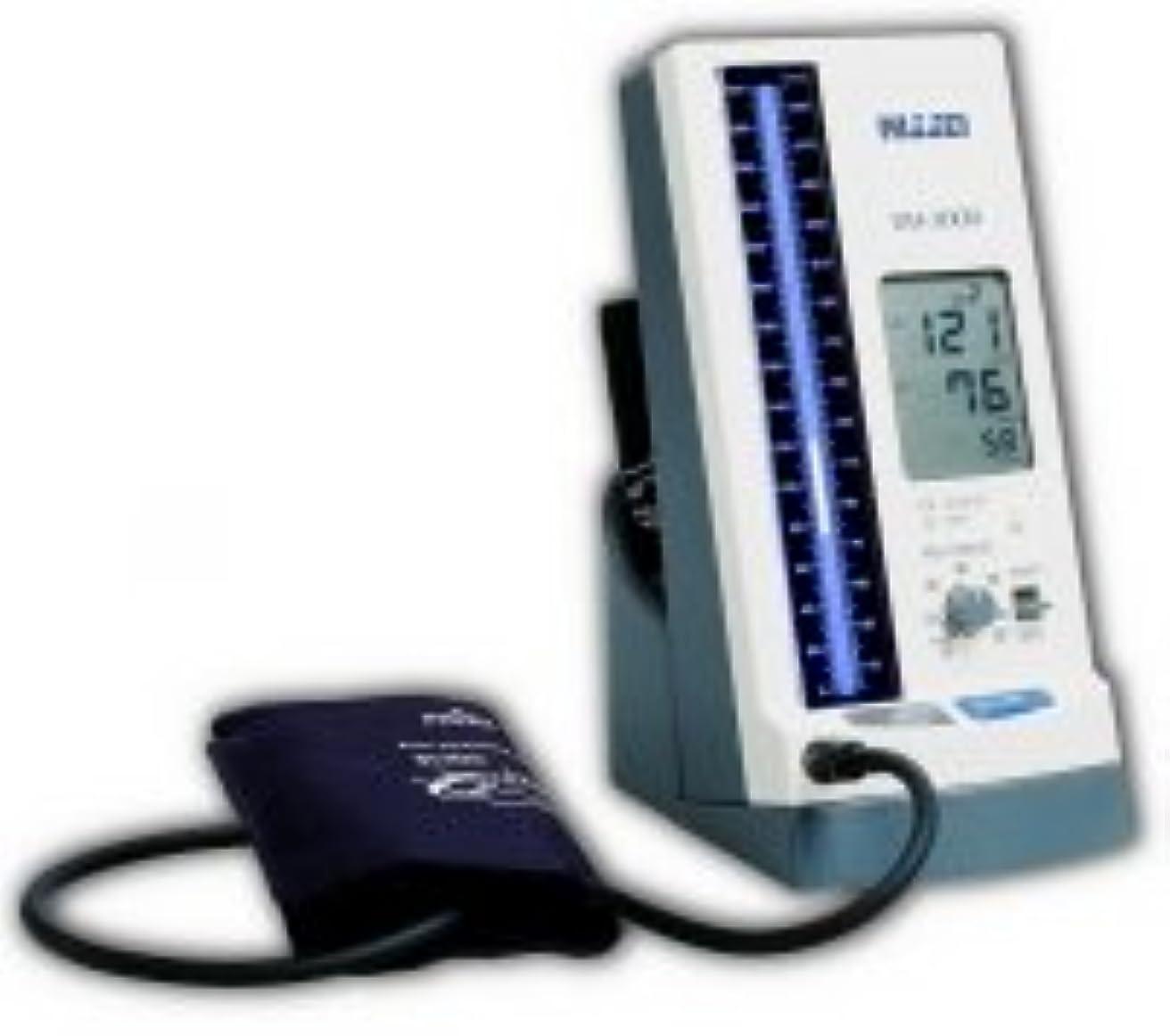 眉をひそめるリスキーな劣るNISSEI 水銀柱イメージ デジタル血圧計 DM-3000