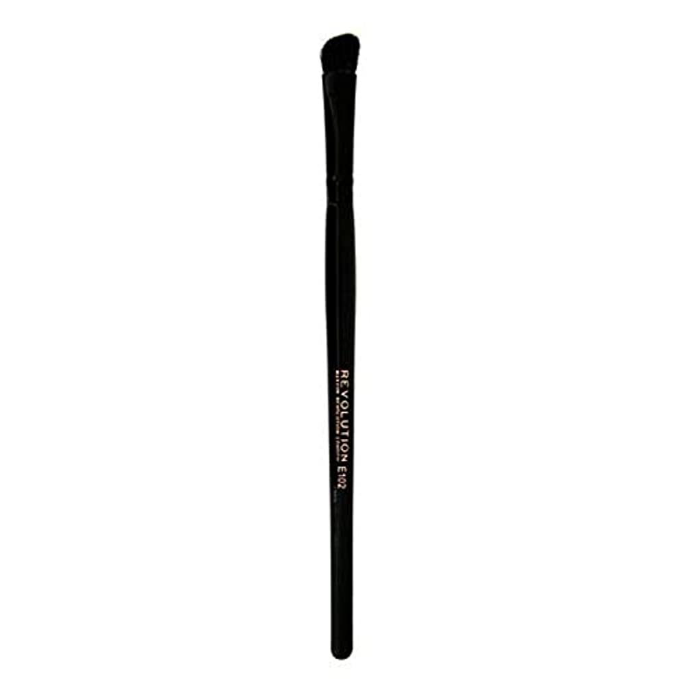 パット賛美歌ソビエト[Revolution ] 革命プロE102アイシャドウの輪郭メイクブラシ - Revolution Pro E102 Eyeshadow Contour Makeup Brush [並行輸入品]