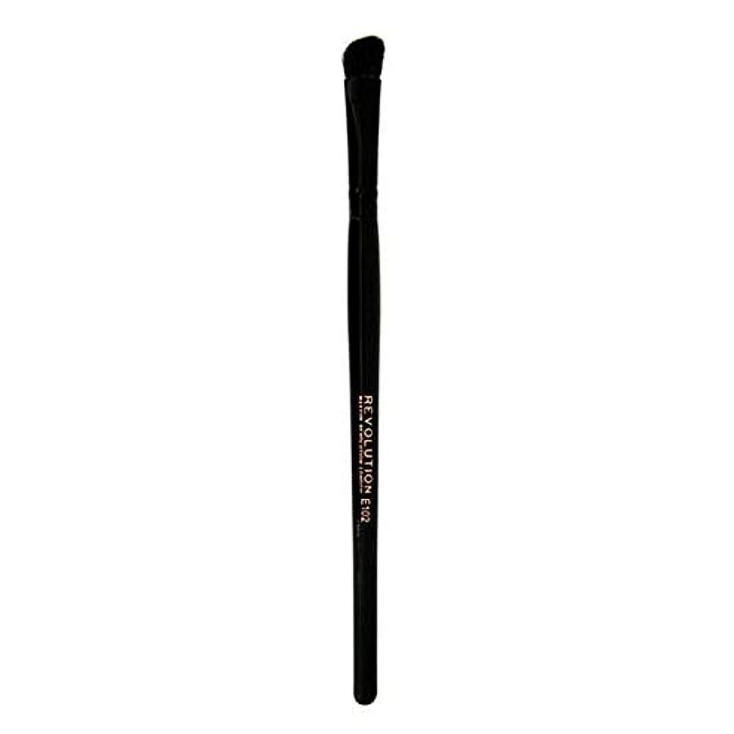 恩赦おとこ研究[Revolution ] 革命プロE102アイシャドウの輪郭メイクブラシ - Revolution Pro E102 Eyeshadow Contour Makeup Brush [並行輸入品]