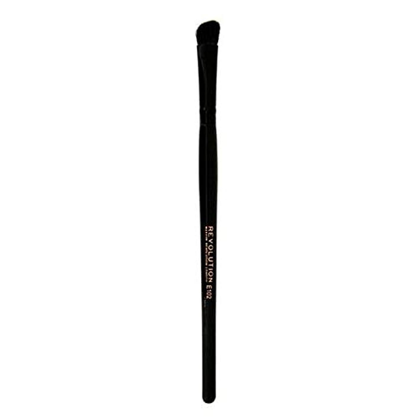 押し下げる背が高いミシン目[Revolution ] 革命プロE102アイシャドウの輪郭メイクブラシ - Revolution Pro E102 Eyeshadow Contour Makeup Brush [並行輸入品]