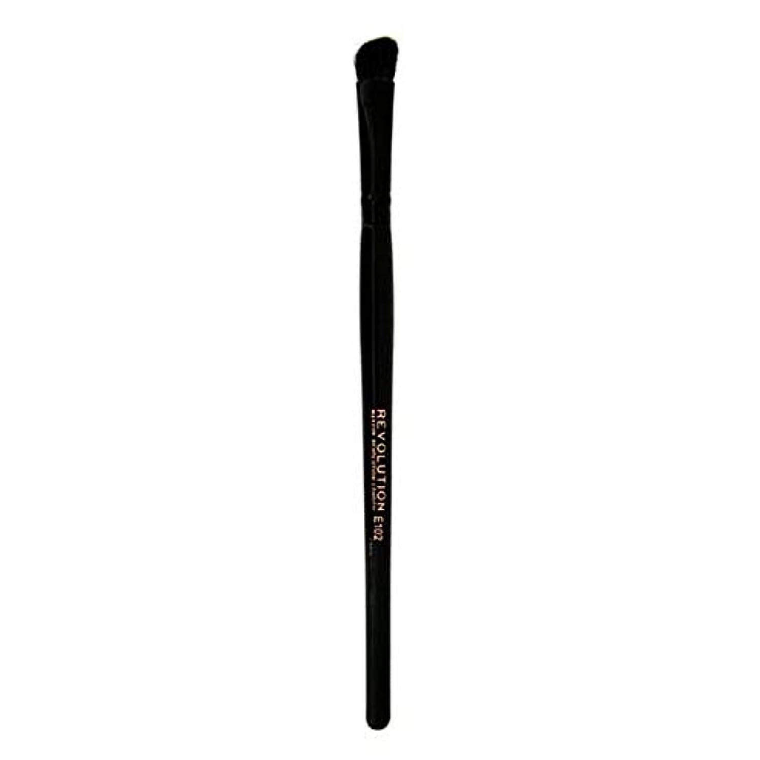 社説許さないしわ[Revolution ] 革命プロE102アイシャドウの輪郭メイクブラシ - Revolution Pro E102 Eyeshadow Contour Makeup Brush [並行輸入品]