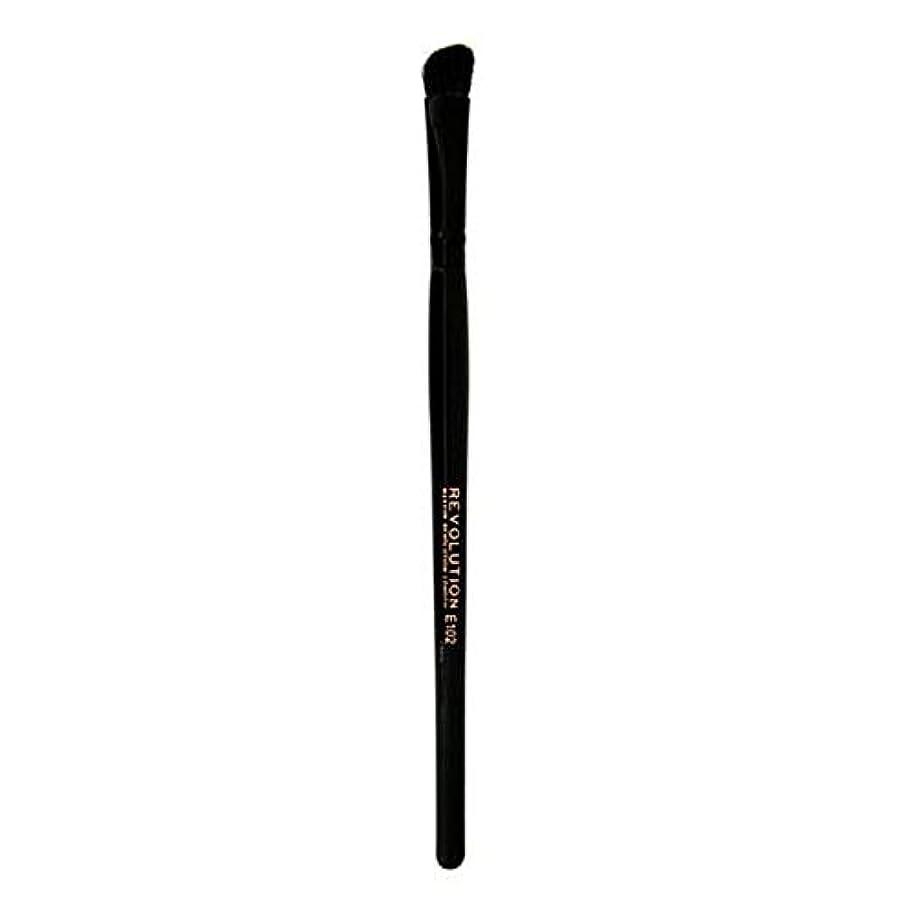眠っているぬいぐるみ自発[Revolution ] 革命プロE102アイシャドウの輪郭メイクブラシ - Revolution Pro E102 Eyeshadow Contour Makeup Brush [並行輸入品]