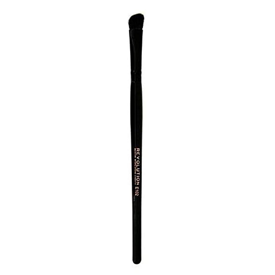 称賛無法者頼む[Revolution ] 革命プロE102アイシャドウの輪郭メイクブラシ - Revolution Pro E102 Eyeshadow Contour Makeup Brush [並行輸入品]