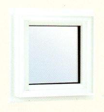 エクセルシャノン樹脂サッシ アクセントサッシシリーズ 外観色 ルーセントシルバー 内観色 ホワイト FIX窓 LWF6P-11903TLNW 遮熱高断熱透明ガラス(LOW-E3mm+A12+3mm)(アルゴンガス入り)