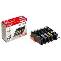 CANON インクタンク BCI?351XL+350XL/5MP 5色マルチパック 大容量 1箱(5