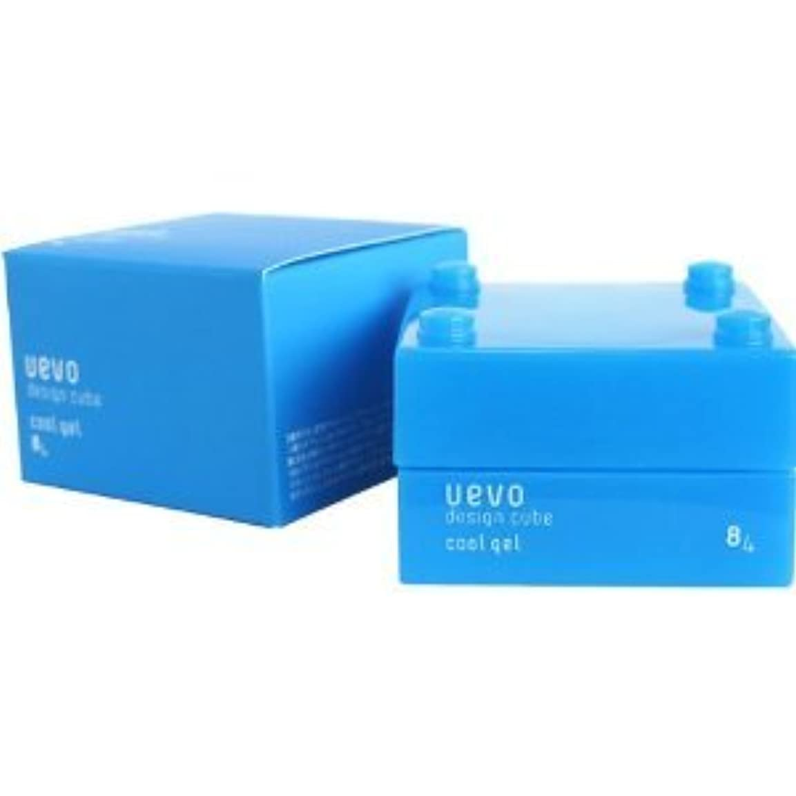 脱獄確立ベンチ【X3個セット】 デミ ウェーボ デザインキューブ クールジェル 30g cool gel DEMI uevo design cube