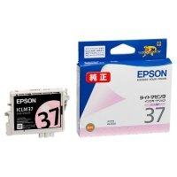 EPSON インクカートリッジ ライトマゼンタ ICLM37 1個