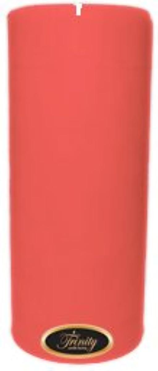 スイス人ウェーハ批判的Trinity Candle工場 – ベビーパウダー – ピンク – Pillar Candle – 4 x 9
