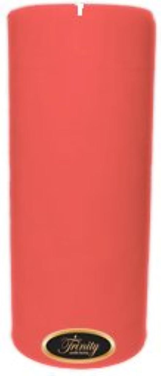 入手します対話フォルダTrinity Candle工場 – ベビーパウダー – ピンク – Pillar Candle – 4 x 9