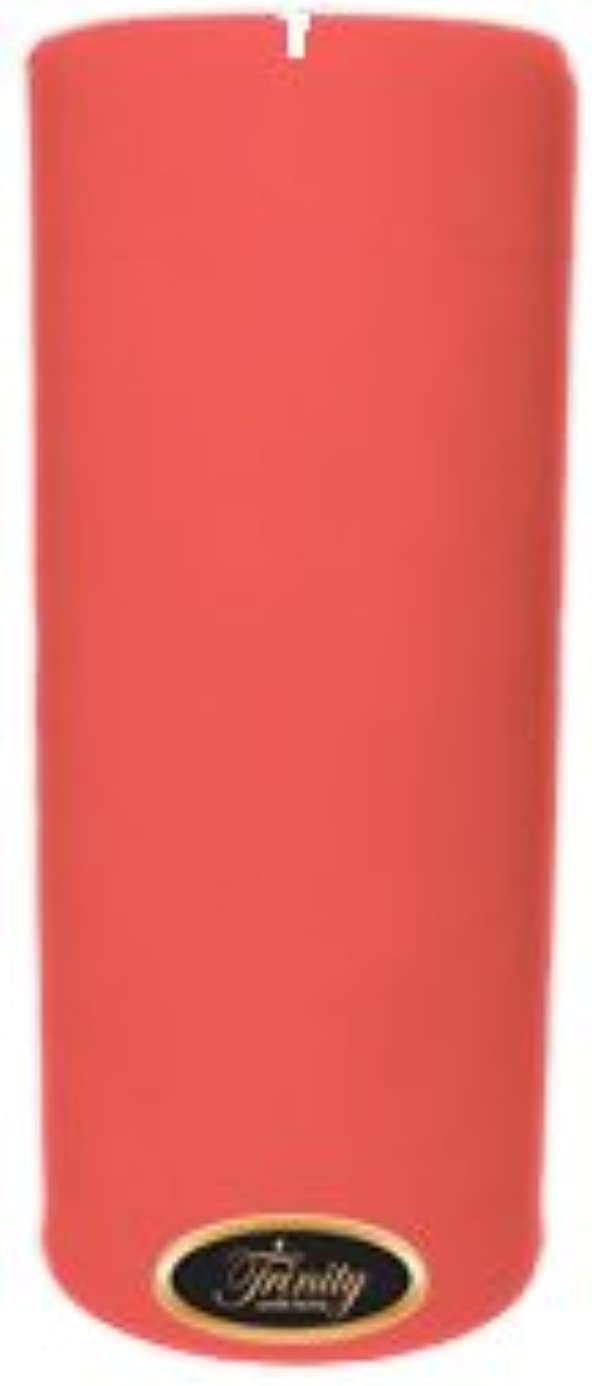 獣スライス炭素Trinity Candle工場 – チェリーバニラ – Pillar Candle – 4 x 9