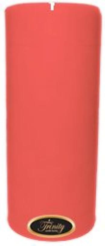 母音組み込む最悪Trinity Candle工場 – ベビーパウダー – ピンク – Pillar Candle – 4 x 9