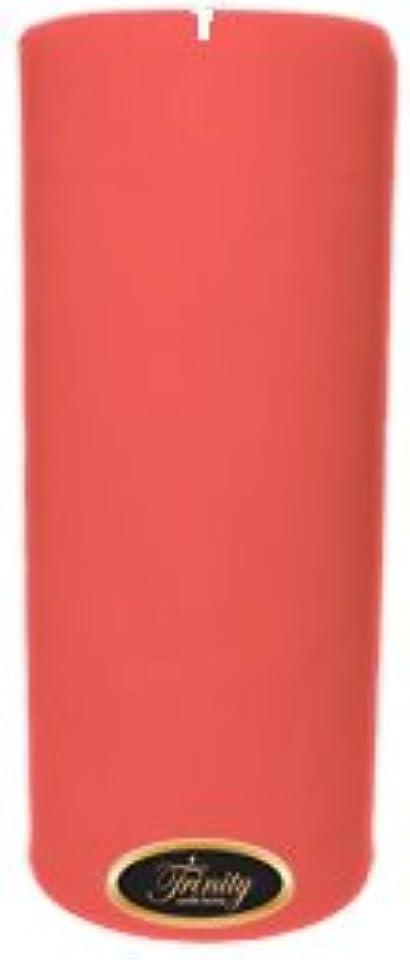 気分が良いちょっと待って実用的Trinity Candle工場 – チェリーバニラ – Pillar Candle – 4 x 9