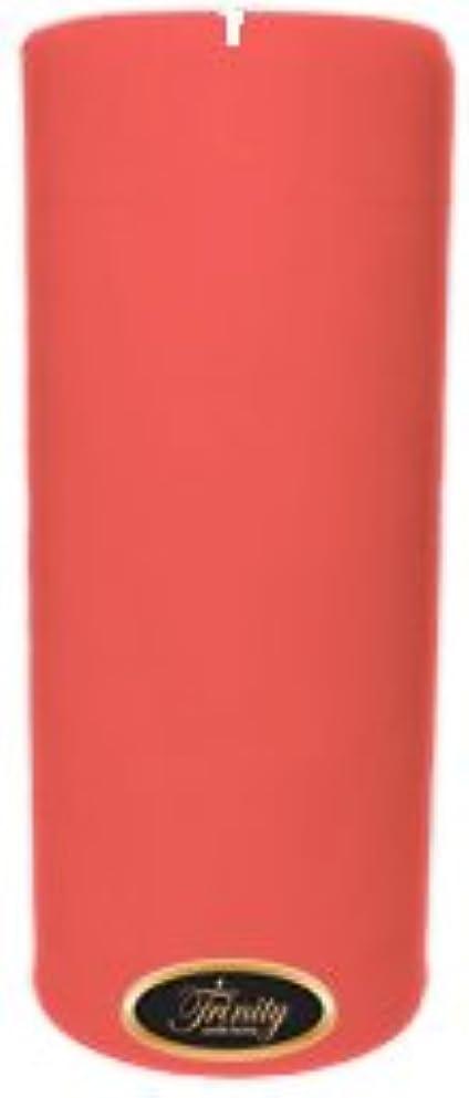 眠り予言する先史時代のTrinity Candle工場 – チェリーバニラ – Pillar Candle – 4 x 9
