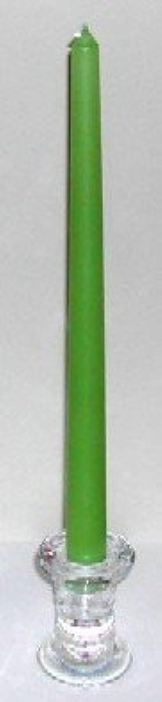 クック現実行商人12インチテーパーキャンドル シャトレーゼグリーン