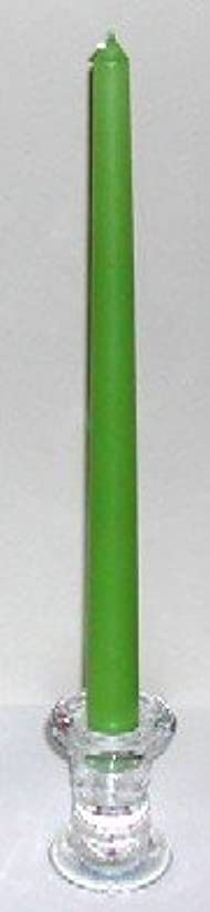 移動ゴミ箱インスタンス12インチテーパーキャンドル シャトレーゼグリーン