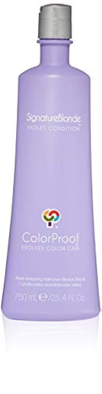 急降下まろやかなフィットネスSignature Blonde Violet Conditioner