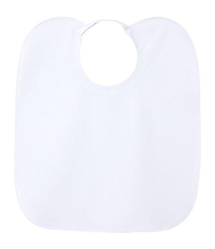 NAGAILEBEN 歯科用マジックエプロン(2枚組) T-10540(55X47) ホワイト