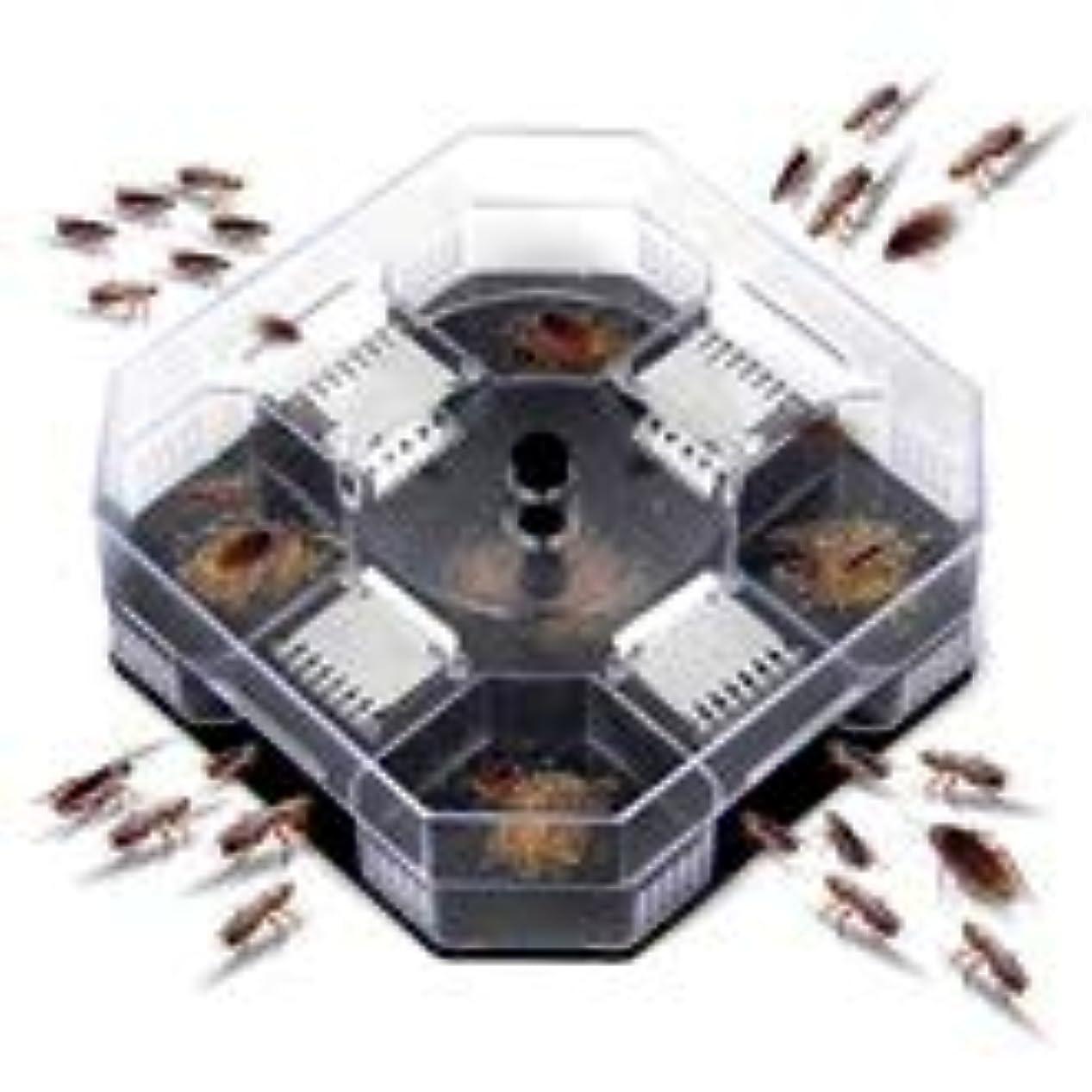 シャッターペイント滅びるLVESHOP 効率的なゴキブリゴキブリトラップキラーキャッチャーボックス物理的捕獲、再利用可能、無毒、環境にやさしい