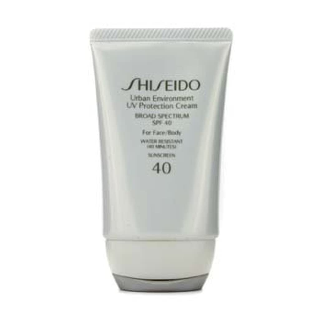 植木教授振る舞いShiseido Urban Environment UV Protection Cream SPF 40 (For Face & Body) - 50ml/1.9oz by Shiseido [並行輸入品]
