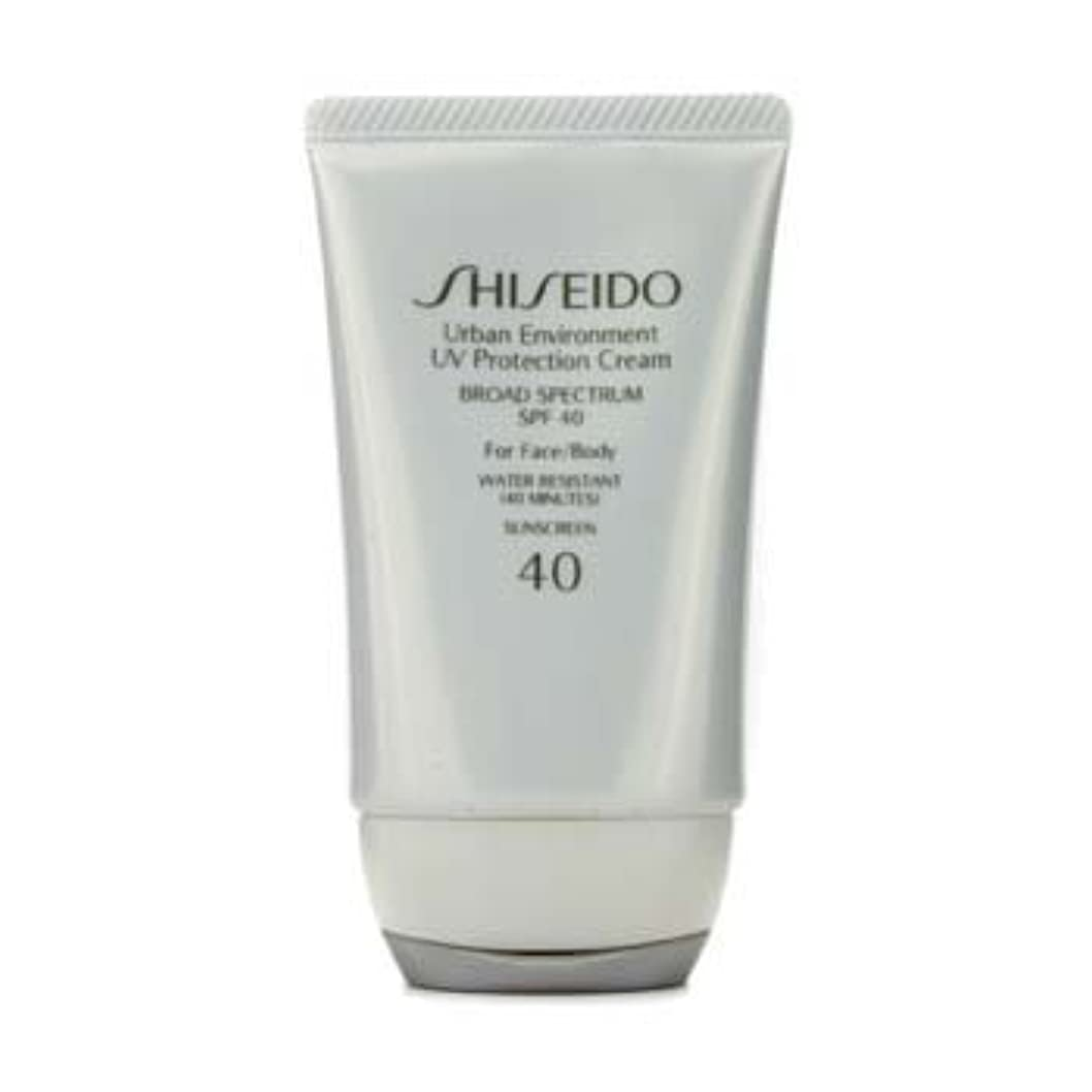 普通に重荷かけるShiseido Urban Environment UV Protection Cream SPF 40 (For Face & Body) - 50ml/1.9oz by Shiseido [並行輸入品]